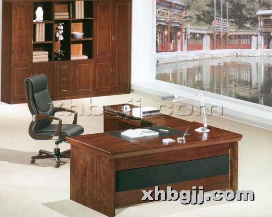 香河办公家具网提供生产川木红班台厂家