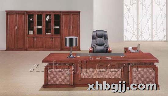 香河办公家具网提供生产胶板实木班台厂家