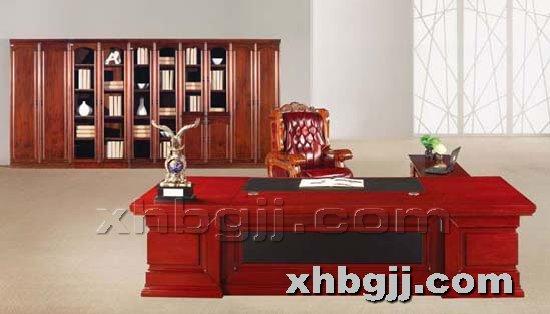 香河办公家具网提供生产川木红胶板班台厂家