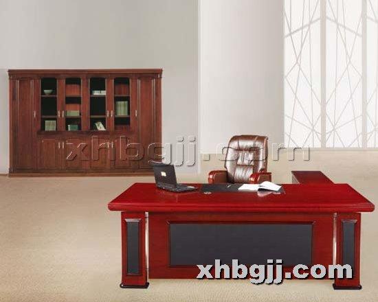 香河办公家具网提供生产现代进口班台厂家