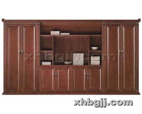 香河办公家具网提供生产川木红玻璃书柜厂家