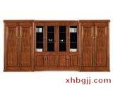 现代钢木书柜