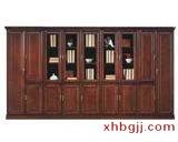 豪华钢木书柜