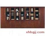 川木红钢木书柜