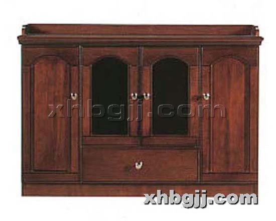 香河办公家具网提供生产川木红实木书柜厂家