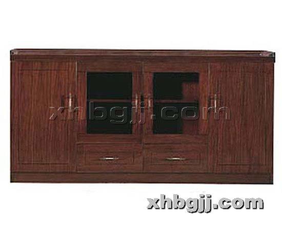 香河办公家具网提供生产古典实木书柜厂家
