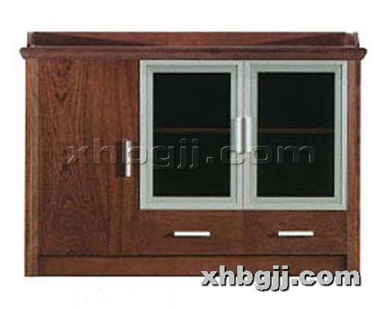 香河办公家具网提供生产现代实木书柜厂家
