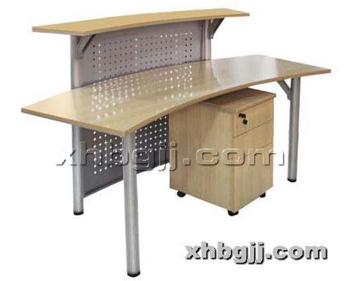 香河办公家具网提供生产钢木接待台厂家