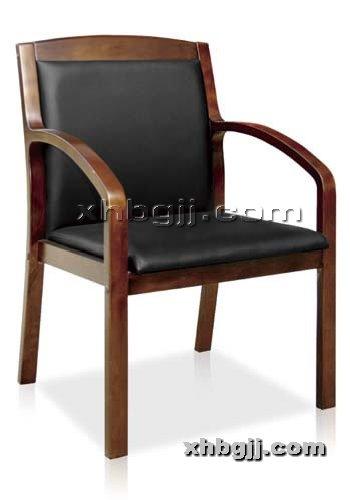 香河办公家具网提供生产实木四脚会议椅厂家