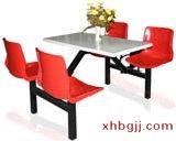 白色大理石餐桌椅