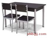 白色美式田园餐桌椅