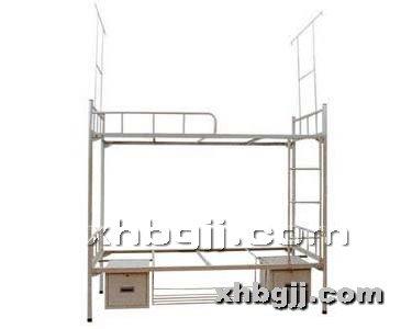 香河办公家具网提供生产双层实木床