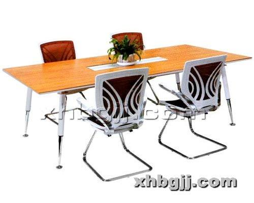 香河办公家具网提供生产高档实木会议桌厂家