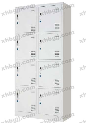 香河办公家具网提供生产八门更衣柜厂家