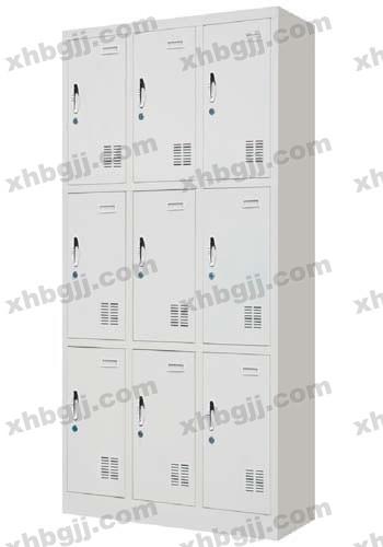 香河办公家具网提供生产九门更衣柜厂家