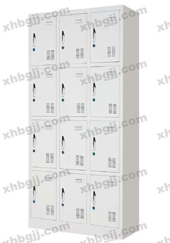 香河办公家具网提供生产十二门更衣柜厂家