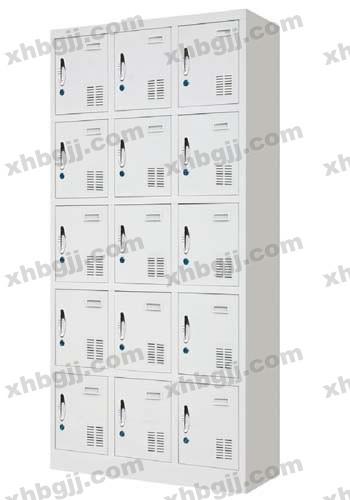 香河办公家具网提供生产十五门更衣柜厂家