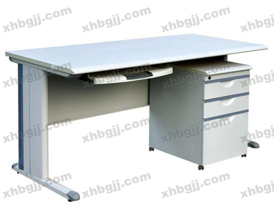 香河办公家具网提供生产钢制办公桌样品厂家