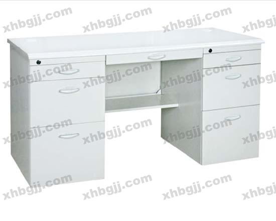 香河办公家具网提供生产新款钢制办公桌样品厂家