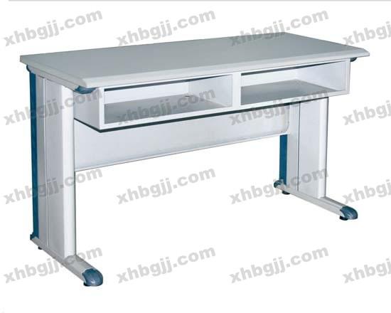 香河办公家具网提供生产新款高档钢制办公桌厂家